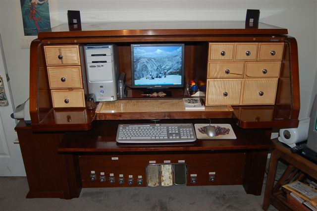 Piano Desk And Desks Made From Upright Pianos McClard
