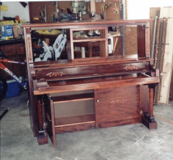 Old Wooden Desk For Sale
